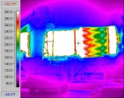 Figure 2. Infrared view of a drum mix plant.
