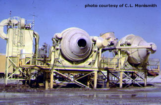Central mixing plant.