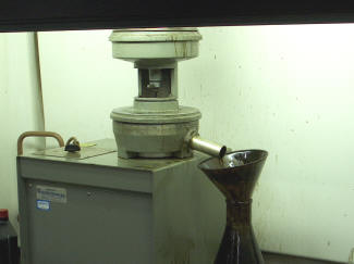 Secondary Centrifuge Used in Solvent Extraction.