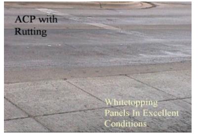 Whitetopping