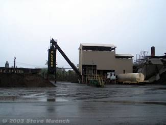 Covered Batch Plant
