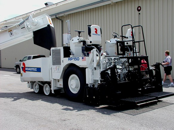 figure 9 a typical asphalt paving machine