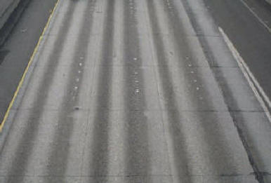 Rigid Pavement Showing Contraction Joints