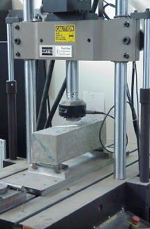 Center-Point Loading Flexural Testing Device