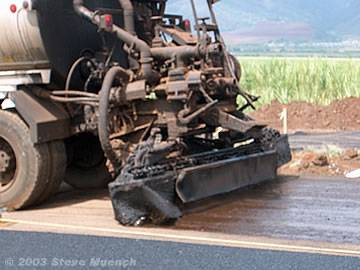 asphalt road construction procedure