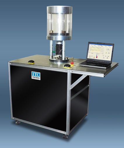 Asphalt Mixture Performance Tester.