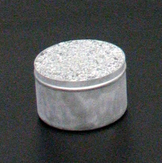 Aggregate sample in 3 oz. (85 mL) tin