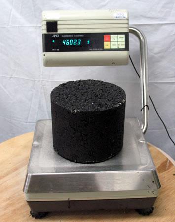 Sample weighing