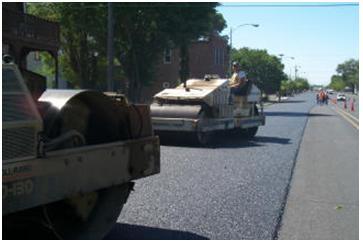 Rehabilitating roadways uses less energy than building new ones