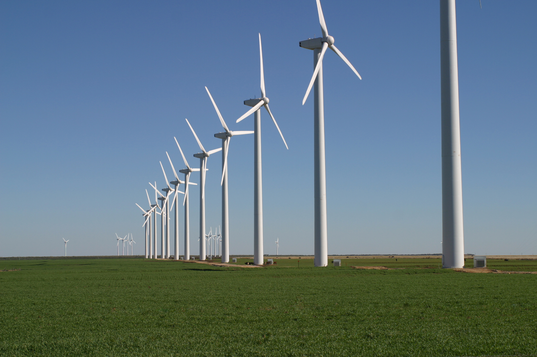 Brazos Wind Farm, Texas.